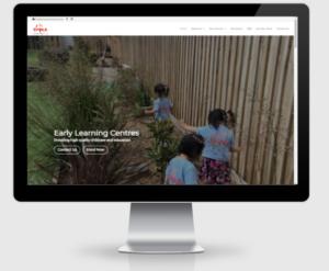 shine website redesign